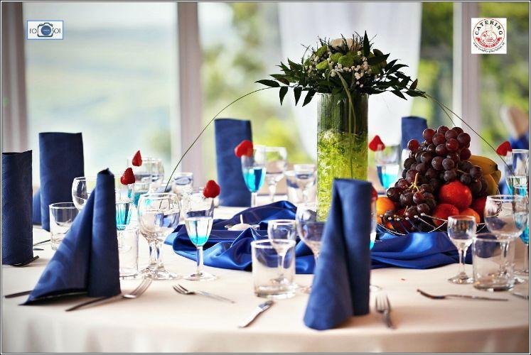 svadobná výzdoba modrá bardejov